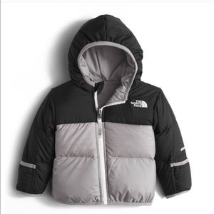 NorthFace Insulated Infant Jacket Zipper Hood NWT